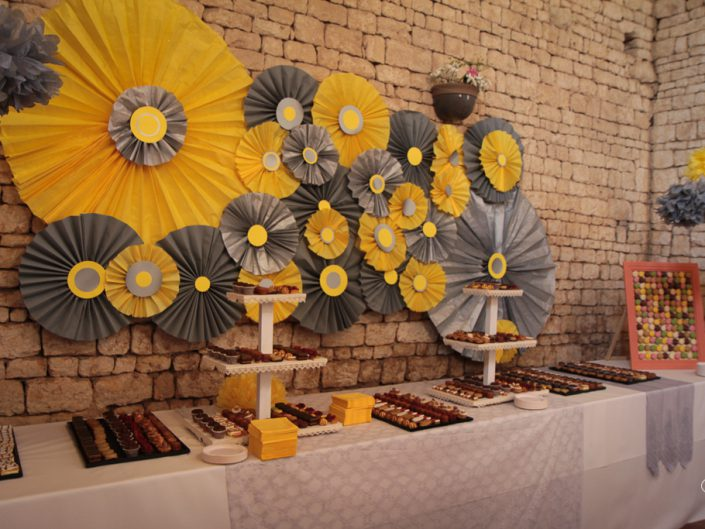 Buffet des desserts - particuliers (mariage)