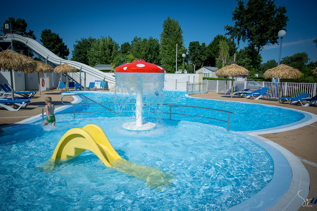 piscine, camping, sg photographie